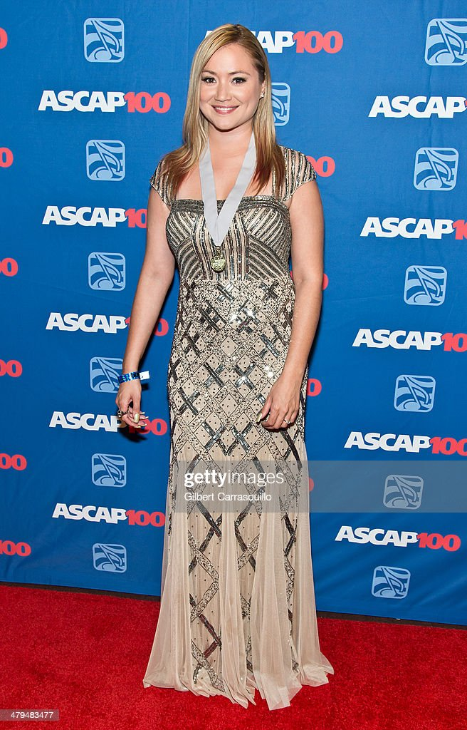 Amerika Jimenez attends the 22nd annual ASCAP Latin Music Awards at Hammerstein Ballroom on March 18, 2014 in New York City.