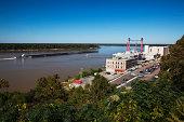 Ameristar Casino and Mississippi River