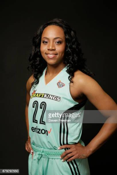 Ameryst Alston of the New York Liberty poses for a portrait at Media Day at MSG Training Center on May 4 2017 in Tarrytown New York NOTE TO USER User...