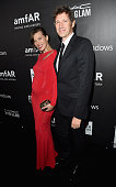 amfAR Ambassador Milla Jovovich and director/writer Paul WS Anderson attend amfAR LA Inspiration Gala honoring Tom Ford at Milk Studios on October 29...