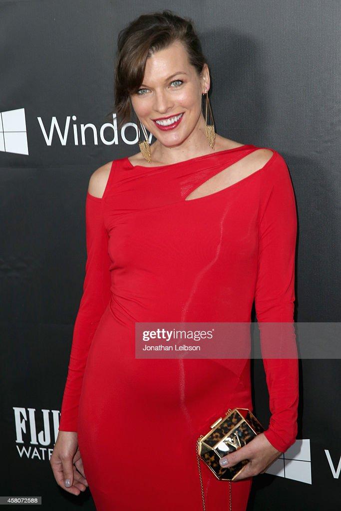 amfAR Ambassador Milla Jovovich attends amfAR LA Inspiration Gala honoring Tom Ford at Milk Studios on October 29 2014 in Hollywood California
