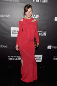 amfAR Ambassador Milla Jovovich attends the 2014 amfAR LA Inspiration Gala at Milk Studios on October 29 2014 in Hollywood California