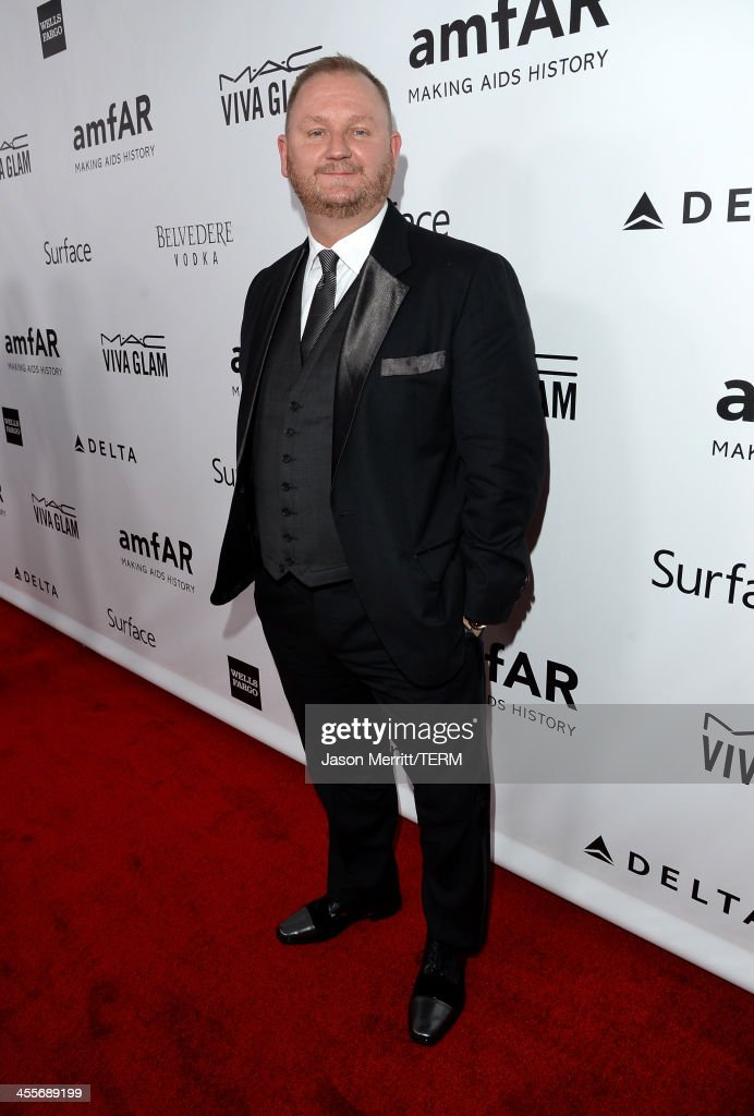 amfAR CEO Kevin Robert Frost attends the 2013 amfAR Inspiration Gala Los Angeles presented by MAC Viva Glam at Milk Studios on December 12, 2013 in Los Angeles, California.