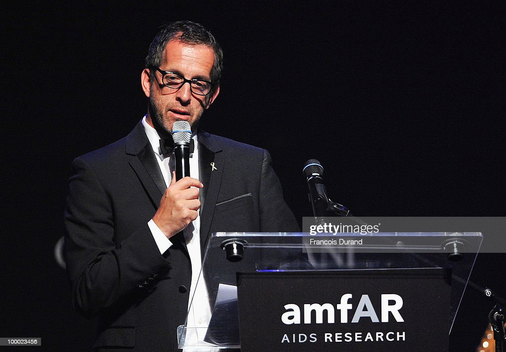 amfAR Chairman Kenneth Cole speaks during amfAR's Cinema Against AIDS 2010 benefit gala at the Hotel du Cap on May 20, 2010 in Antibes, France.