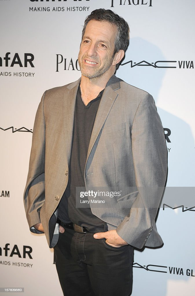 AmfAR Chairman of the Board and designer Kenneth Cole attends the amfAR Inspiration Miami Beach Party at Soho Beach House on December 6, 2012 in Miami Beach, Florida.