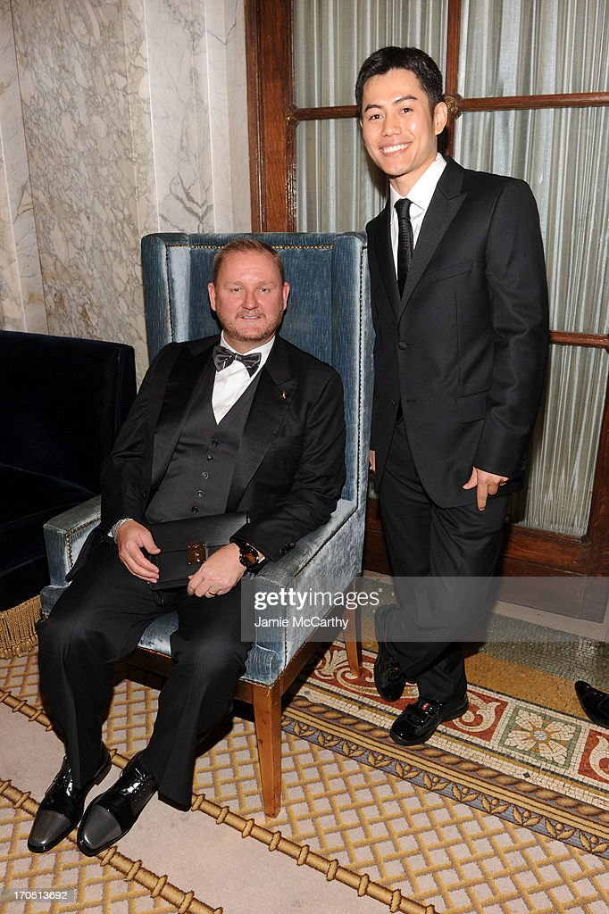 amfAR Chief Executive Officer Kevin Robert Frost and Nikom Wongtee attend the 4th Annual amfAR Inspiration Gala New York at The Plaza Hotel on June 13, 2013 in New York City.