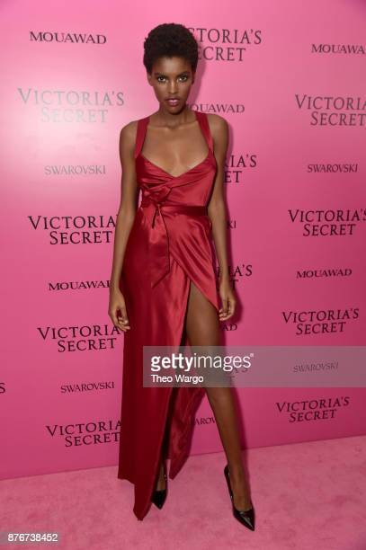 Amilna Estevao attends the 2017 Victoria's Secret Fashion Show In Shanghai After Party at MercedesBenz Arena on November 20 2017 in Shanghai China