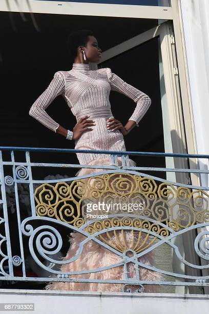 Amilna Estevao is spotted during the 70th annual Cannes Film Festival at on May 24 2017 in Cannes France