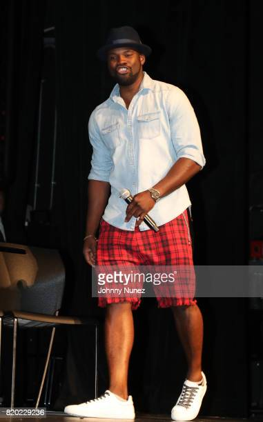 Amin Joseph attends the 'Snowfall' New York Screening at The Schomburg Center for Research in Black Culture on July 20 2017 in New York City