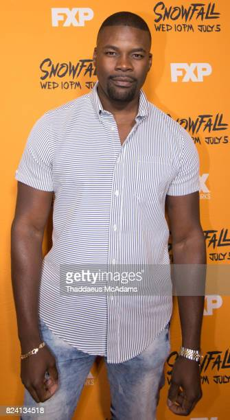 Amin Joseph attends the Snowfall screening at Regal South Beach on July 28 2017 in Miami Florida