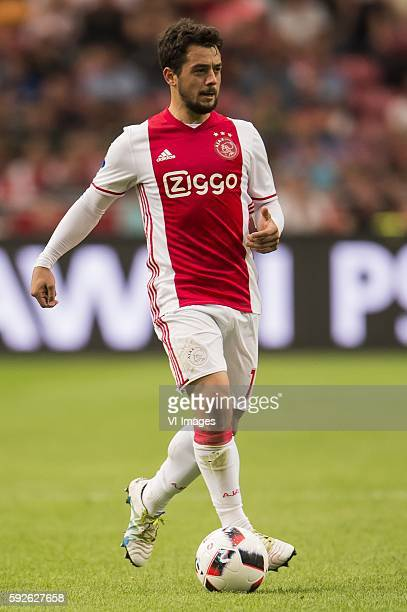 Amin Younes of Ajax during the Dutch Eredivisie match between Ajax and Willem II at the Amsterdam Arena on august 20 2016 in Amsterdam the Netherlands