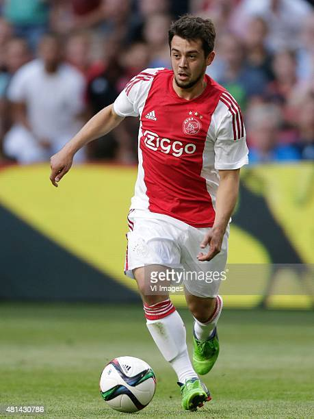 Amin Younes of Ajax during the preseason friendly match between Ajax Amsterdam and VfL Wolfsburg on July 17 2015 at the Amsterdam Arena at Amsterdam...