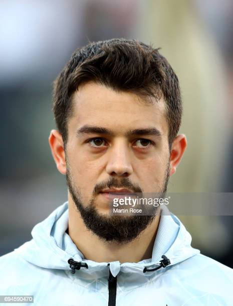 Amin Younes of Germany looks on before the FIFA 2018 World Cup Qualifier between Germany and San Marino at on June 10 2017 in Nuremberg Bavaria