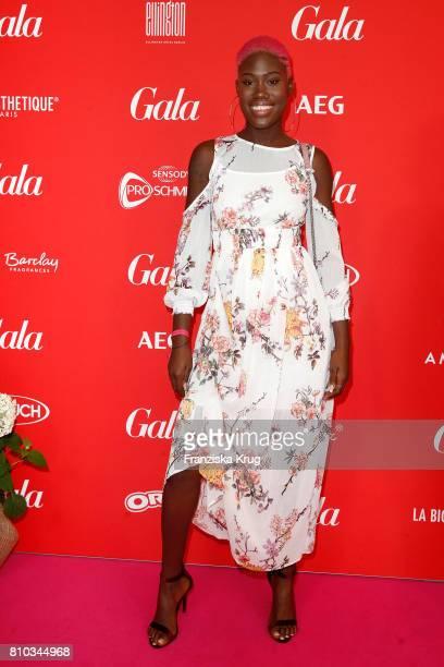 Aminata Sanogo attends the Gala Fashion Brunch during the MercedesBenz Fashion Week Berlin Spring/Summer 2018 at Ellington Hotel on July 7 2017 in...