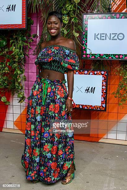 Aminata Sanogo attends the KENZO x HM PreShopping Event on November 2 2016 in Berlin Germany