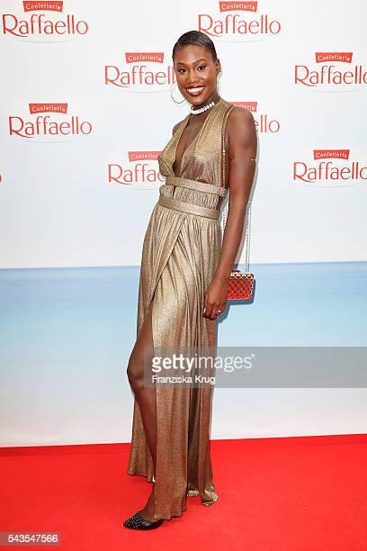 Aminata Sanogo attends the Raffaello Summer Day 2016 to celebrate the 26th anniversary of Raffaello on June 24 2016 in Berlin Germany