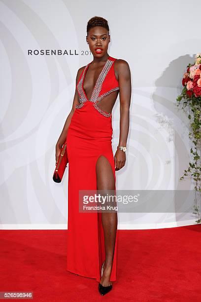 Aminata Sanogo attends the Rosenball 2016 on April 30 in Berlin Germany
