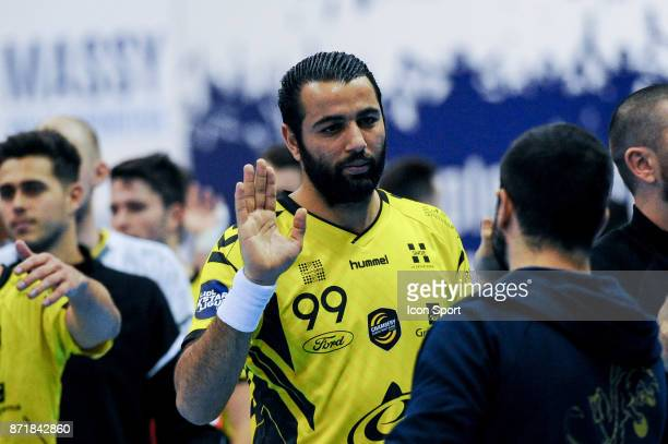 Amine Bannour of Chambery during the Lidl Starligue match between Massy and Chambery on November 8 2017 in Massy France