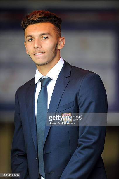 Amine Gouiri of Lyon during the french Ligue 1 match between Olympique Lyonnais and Girondins de Bordeaux at Stade des Lumieres on September 10 2016...