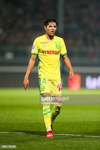 Amine Harit of Nantes during the French Ligue 1 match between Angers and Nantes on December 16 2016 in Angers France