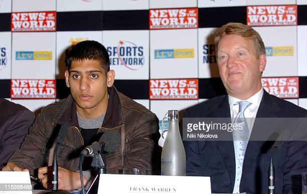 Amir Khan and Frank Warren Amir Khan will face Cuban Mario Kindelan on April 30 2005 at Bolton's Reebok Stadium Khan is expected to turn professional...