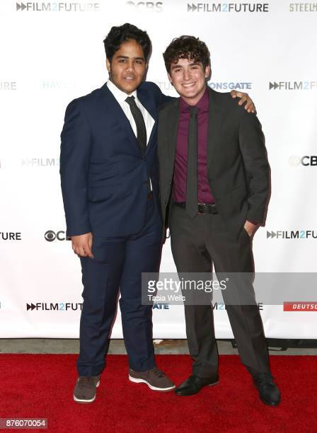 Amir Malekpour and Damian Vasquez at the Film2Future Year 2 Awards Ceremony on November 16 2017 in Los Angeles California