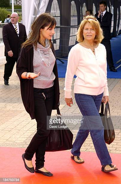 Amira Casar and Marthe Keller during The 32nd Deauville American Film Festival 'Stephanie Daley' Premiere at Deauville Film Festival in Deauville...
