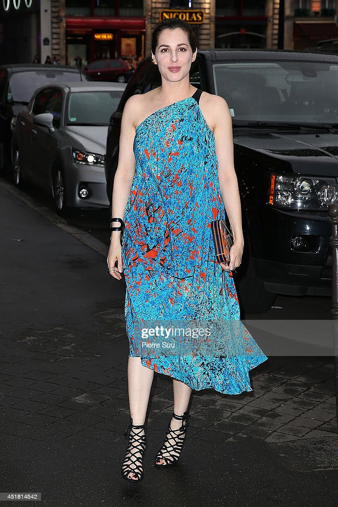<a gi-track='captionPersonalityLinkClicked' href=/galleries/search?phrase=Amira+Casar&family=editorial&specificpeople=239076 ng-click='$event.stopPropagation()'>Amira Casar</a> arrives at a 'Dior' dinner on July 7, 2014 in Paris, France.