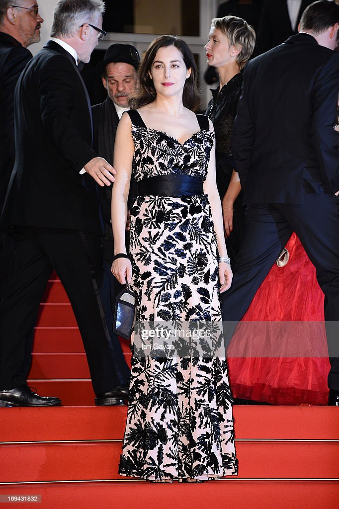 Amira Casar attends the 'Michael Kohlhaas' premiere during The 66th Annual Cannes Film Festival at the Palais des Festival on May 24, 2013 in Cannes, France.