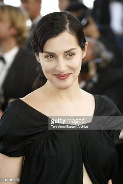 Amira Casar during 2003 Cannes Film Festival 'Tulse Luper Suitcases' Premiere at Palais des Festivals in Cannes France
