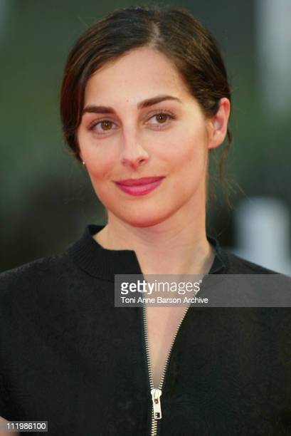 Amira Casar during Deauville 2002 'Divine Secrets of The YaYa Sisterhood' Premiere at CID Deauville in Deauville France