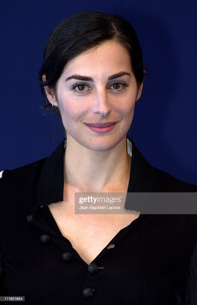 <a gi-track='captionPersonalityLinkClicked' href=/galleries/search?phrase=Amira+Casar&family=editorial&specificpeople=239076 ng-click='$event.stopPropagation()'>Amira Casar</a> during Deauville 2002 - 'Hypnotized and Hysterical (Hairdresser Wanted)'/'Filles perdues, cheveux gras' Photocall at C.I.D Deauville in Deauville, France.