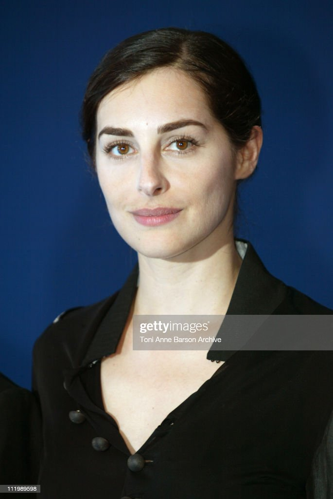 Amira Casar during Deauville 2002 -'Hypnotized and Hysterical (Hairstylist Wanted)' / 'Filles perdues, cheveux gras' Photocall at CID - Centre International de Deauville in Deauville, France.