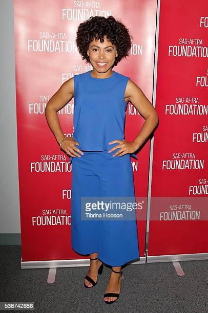 Amirah Vann attends SAGAFTRA Foundation Conversations with 'Underground' at SAGAFTRA Foundation on June 7 2016 in Los Angeles California