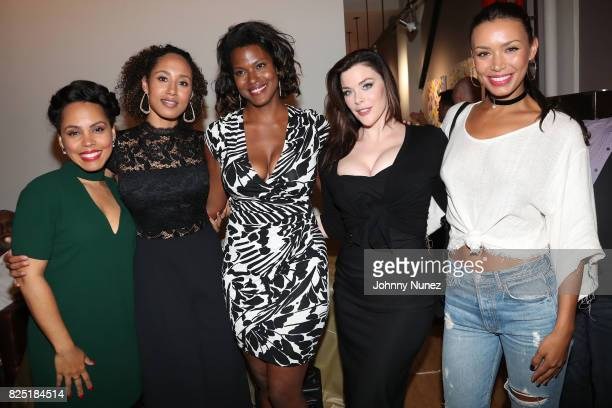 Amirah Vann Margot Bingham Cassandra Freeman Kim Director and Ilfenesh Hadera attend the 'Come Up' With Margot Bingham And Cassie Freeman Podcast...