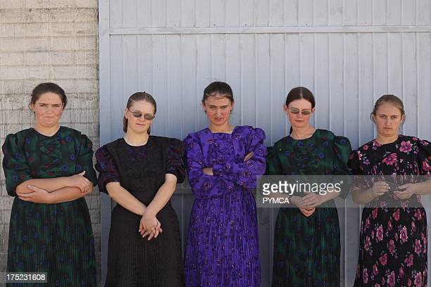 Amish community in Mexico 2009