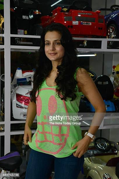 Amisha Patel at launch of a toy store in Mumbai