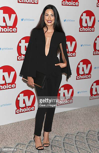 Amit Mafgera arrives for the TVChoice Awards at The Dorchester on September 5 2016 in London England