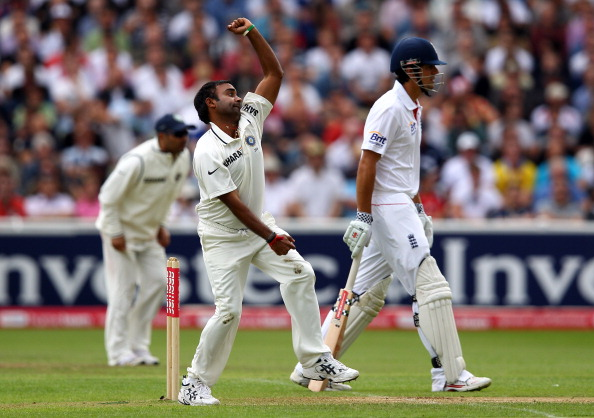 England v India: 3rd npower Test - Day Three : News Photo