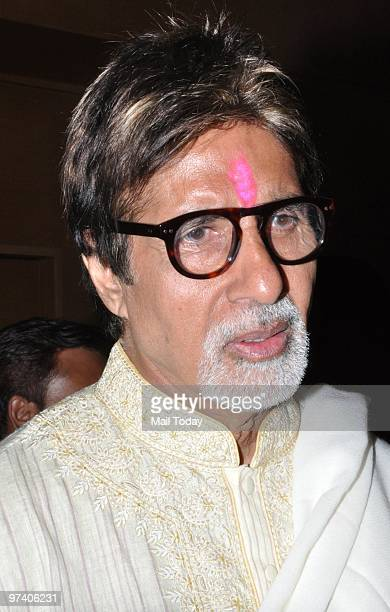 Amitabh Bachchan at Big Pictures' success bash held in Mumbai on February 28 2010
