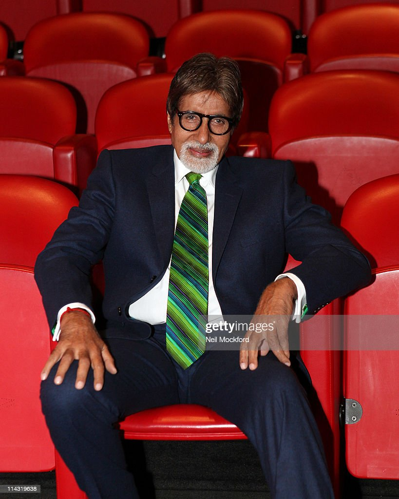 <a gi-track='captionPersonalityLinkClicked' href=/galleries/search?phrase=Amitabh+Bachchan&family=editorial&specificpeople=220394 ng-click='$event.stopPropagation()'>Amitabh Bachchan</a> attends the BACHCHAN BOL launch at Soho Hotel on May 18, 2011 in London, England.