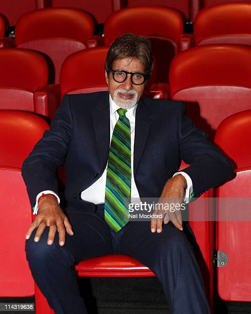 Amitabh Bachchan attends the BACHCHAN BOL launch at Soho Hotel on May 18 2011 in London England