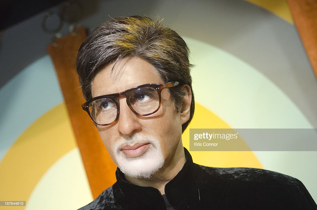 <a gi-track='captionPersonalityLinkClicked' href=/galleries/search?phrase=Amitabh+Bachchan&family=editorial&specificpeople=220394 ng-click='$event.stopPropagation()'>Amitabh Bachchan</a> wax figure is unveiled during the launch of the traveling Bollywood Exhibit at Madame Tussauds on December 4, 2012 in Washington, DC.