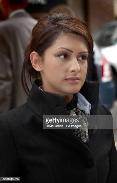 Amitjo Kajla attends a tribunal in Birmingham where she is seeking compensation for constructive unfair dismissal