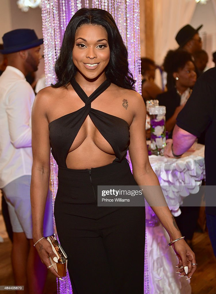 Kenya Moore Hair Care Launch Event