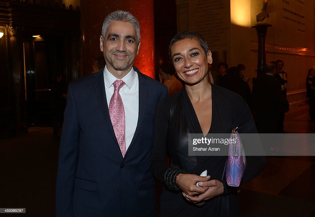 Amjad Atallah and <a gi-track='captionPersonalityLinkClicked' href=/galleries/search?phrase=Zainab+Salbi&family=editorial&specificpeople=2151397 ng-click='$event.stopPropagation()'>Zainab Salbi</a> attend the Women for Women 20th Anniversary Gala celebration at the American Museum of Natural History on December 3, 2013 in New York City.