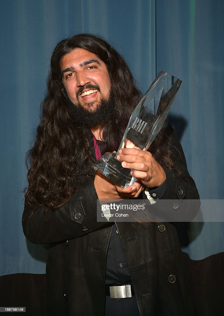 Ammar Malik, Co-BMI Songwriter of the Year award recipient, pauses for a photo at the 2013 BMI Pop Awards at the Beverly Wilshire Four Seasons Hotel on May 14, 2013 in Beverly Hills, California.