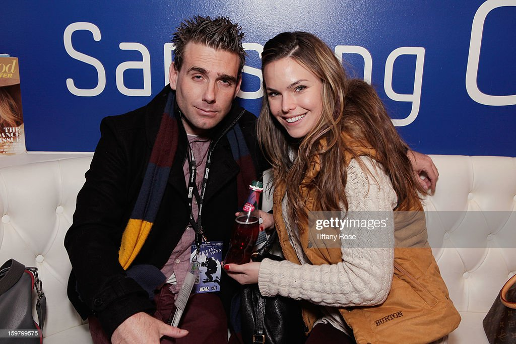 Ammon Waters and Alora Alexander attend Day 3 of Tea of a Kind at Village At The Lift 2013 on January 20, 2013 in Park City, Utah.