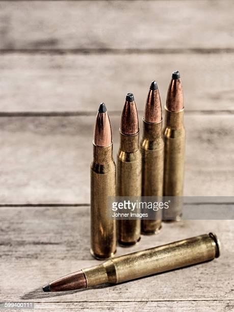 Ammunition, close-up