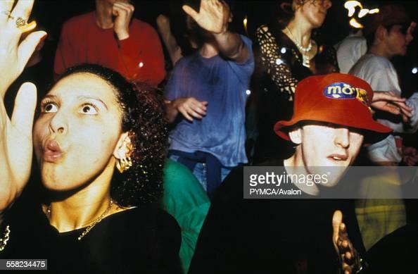 Resultado de imagem para Raving in the '90s. Photo by PYMCA/UIG/Getty